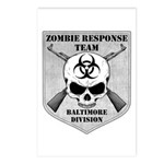 Zombie Response Team: Baltimore Division Postcards