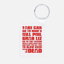Shaun of the Dead Pint... Keychains