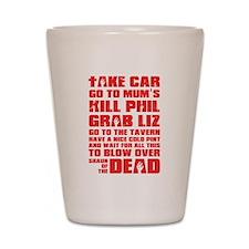 Shaun of the Dead Pint... Shot Glass