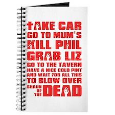 Shaun of the Dead Pint... Journal