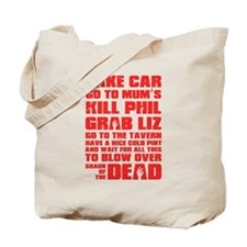 Shaun of the Dead Pint... Tote Bag