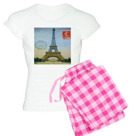 VINTAGE EIFFEL TOWER Women's Light Pajamas