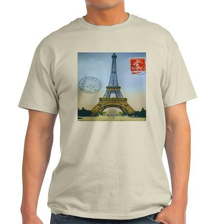 VINTAGE EIFFEL TOWER Light T-Shirt