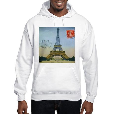 VINTAGE EIFFEL TOWER Hooded Sweatshirt