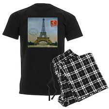 VINTAGE EIFFEL TOWER Pajamas