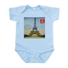 VINTAGE EIFFEL TOWER Infant Bodysuit