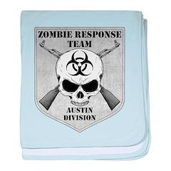 Zombie Response Team: Austin Division baby blanket