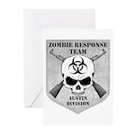 Zombie Response Team: Austin Division Greeting Car
