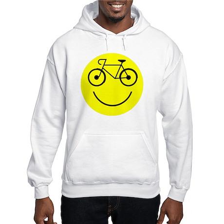Smiley Cycle Hooded Sweatshirt