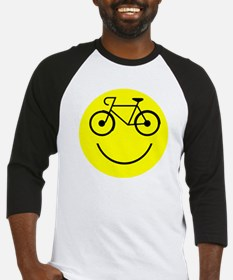 Smiley Cycle Baseball Jersey