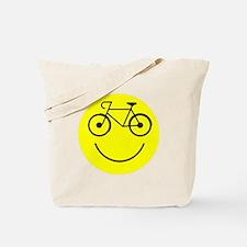 Smiley Cycle Tote Bag