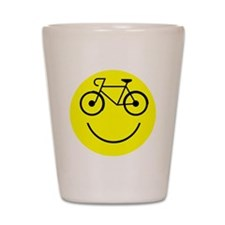 Smiley Cycle Shot Glass