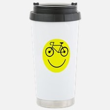 Smiley Cycle Travel Mug
