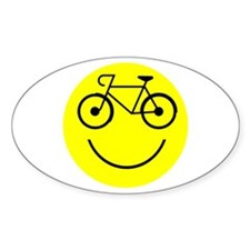 Smiley Cycle Decal