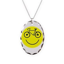 Smiley Cycle Necklace