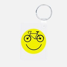 Smiley Cycle Keychains