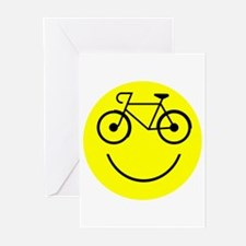 Smiley Cycle Greeting Cards (Pk of 20)