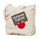 Fun 3rd Grade Teacher Gift Tote Bag