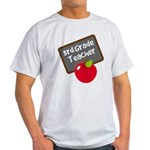 Fun 3rd Grade Teacher Gift Light T-Shirt