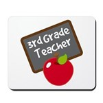 Fun 3rd Grade Teacher Gift Mousepad
