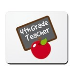 Fun 4th Grade Teacher Gift Mousepad
