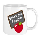 Fun 4th Grade Teacher Gift Mug