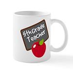 Fun 5th Grade Teacher Gift Mug