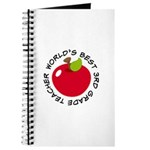 World's Best 3rd Grade Teacher Gift Journal