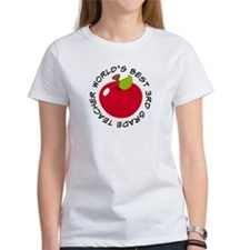 World's Best 3rd Grade Teacher Gift Tee