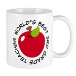 World's Best 3rd Grade Teacher Gift Mug