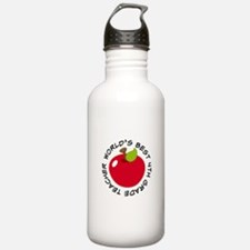World's Best 4th Grade Teacher Gift Water Bottle