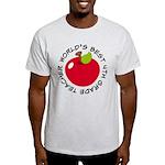 World's Best 4th Grade Teacher Gift Light T-Shirt