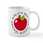 World's Best 4th Grade Teacher Gift Mug