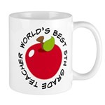 Worlds Best 5th Grade Teacher Mug