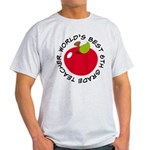 World's Best 6th Grade Teacher Gift Light T-Shirt