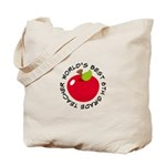 World's Best 6th Grade Teacher Gift Tote Bag