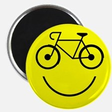 Cute Bicycling Magnet