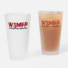Cute Wsp Drinking Glass