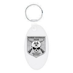 Zombie Response Team: Arlington Division Keychains