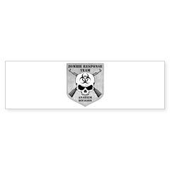 Zombie Response Team: Anaheim Division Bumper Sticker