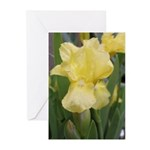 Yellow iris Greeting Cards (Pk of 10)