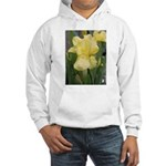 Yellow iris Hooded Sweatshirt