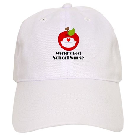 World's Best School Nurse Gift Cap