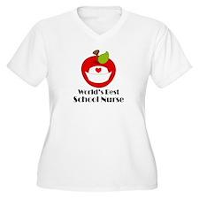 World's Best School Nurse Gift T-Shirt