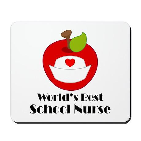 World's Best School Nurse Gift Mousepad