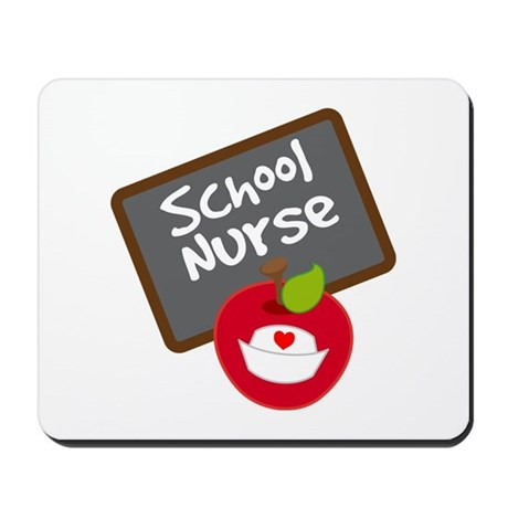 Fun School Nurse Gift Mousepad