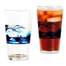 Haunted Old Scroggs Tavern Drinking Glass