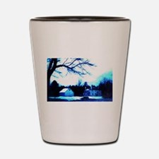 Haunted Old Scroggs Tavern Shot Glass