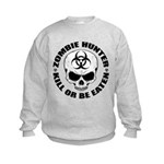 Zombie Hunter 4 Kids Sweatshirt