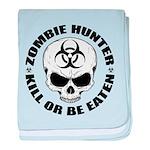 Zombie Hunter 4 baby blanket